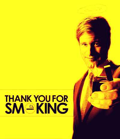 """thank you for smoking persuasion If you want to see an outstanding demonstration of the difference between  persuasion and advocacy/activism/truthtelling, see the movie, """"thank."""