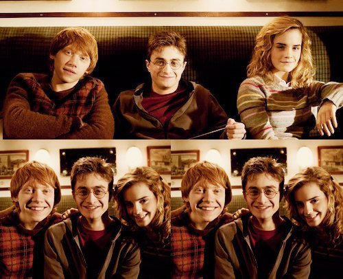 Harry Potter fond d'écran called The Golden Trio *-*