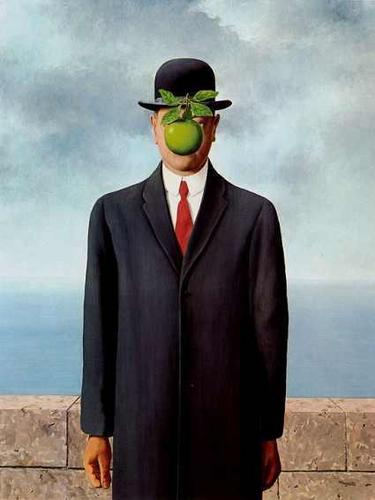 The Son of Man によって René Magritte in the Movie The Thomas Crown Affair