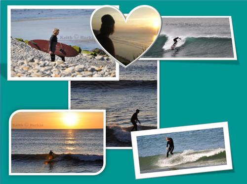 The Liebe of the surf