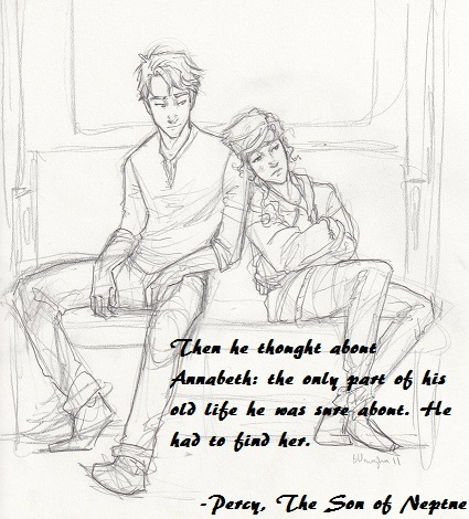 are annabeth and percy still dating in the lost hero