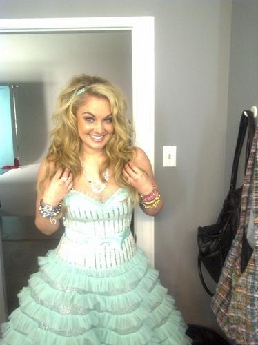 Tiffany Thornton Pretty Dress