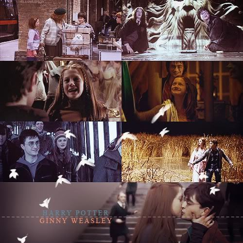 Harry and Ginny wallpaper possibly with a multiplex, a brasserie, and a street entitled Tumblr stuff <3