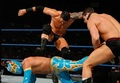 Wade in six man tag match - wade-barrett-justin-gabriel-heath-slater photo