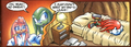 Young Knuckles crying in his bed - knuckles-the-echidna photo