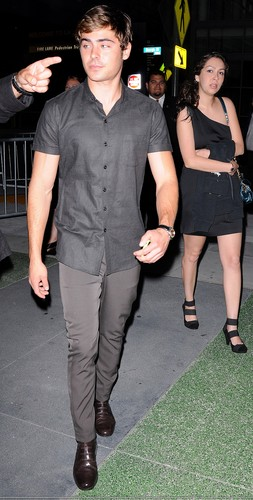 Zac at the LA Film Fest for a Screening of Devil's Double - June 20, 2011