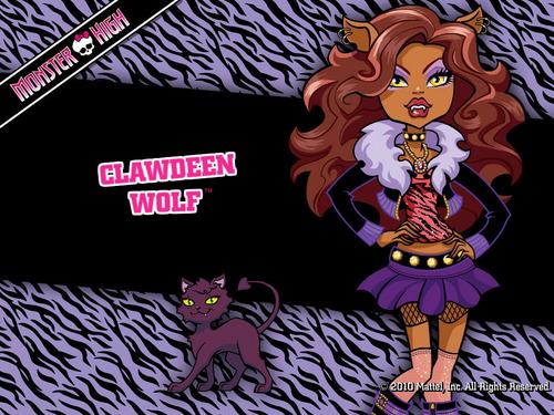 clawdeen 狼