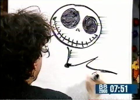 Tim burton kertas dinding called jack