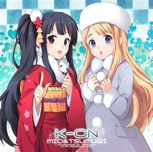 mikio wallpaper probably with anime called k-on !!