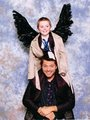 misha and a young castiel प्रशंसक