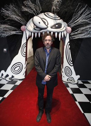 Tim Burton wallpaper containing a business suit called moma