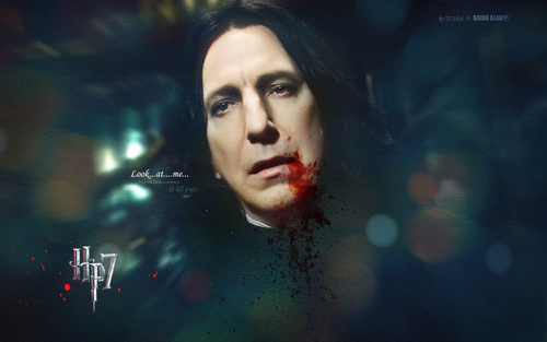 severus snape-look at me
