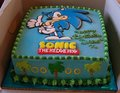 sonic cake - sonic-the-hedgehog photo