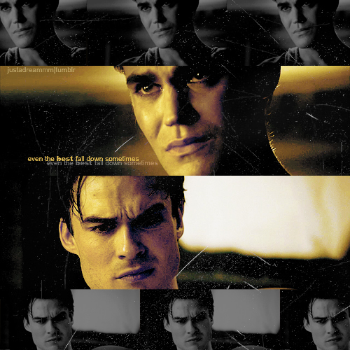 stefan and Damon ♥