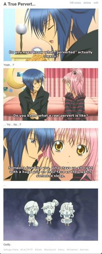 the बिस्तर moment....ikuto:warm bottle