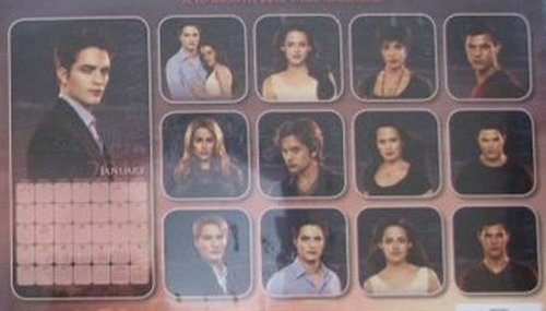 """Breaking Dawn"" Promo Pictures 2012 BD Calendar"