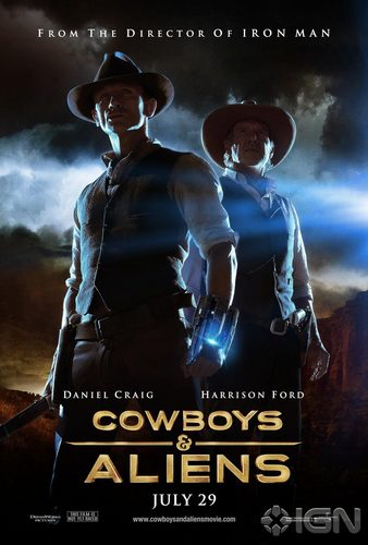 'Cowboys & Aliens' Promotional Poster