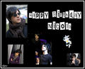 ** Happy Birthday Nicola **