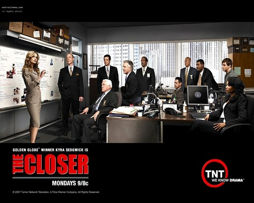 The Closer wallpaper with a business suit entitled -The Closer-