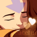 Aang and Katara - kataang icon