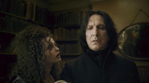Alan & Helena as Snape & Bella