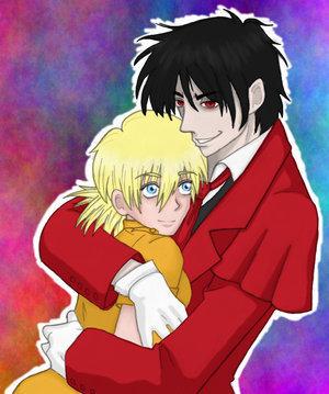 Alucard and Seras Victoria