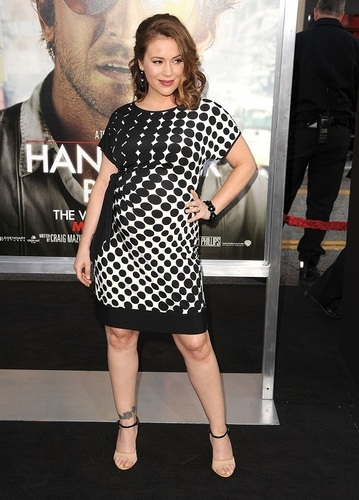 Alyssa - Premiere of The Hangover Part II, May 19, 2011