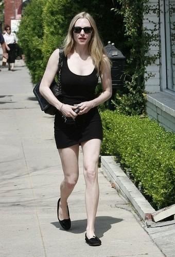 Amanda Seyfried Heading To Casting Office.