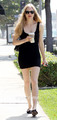 Amanda Seyfried heads to a Casting Office in Hollywood, Jun 23