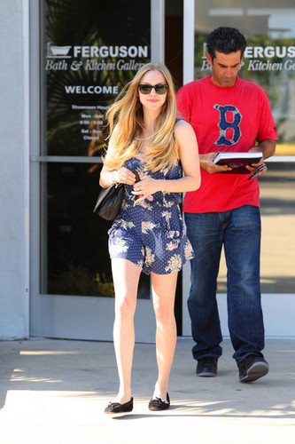 Amanda Seyfried in West Hollywood.
