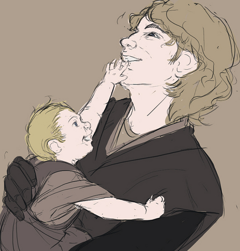 Anakin and Luke!