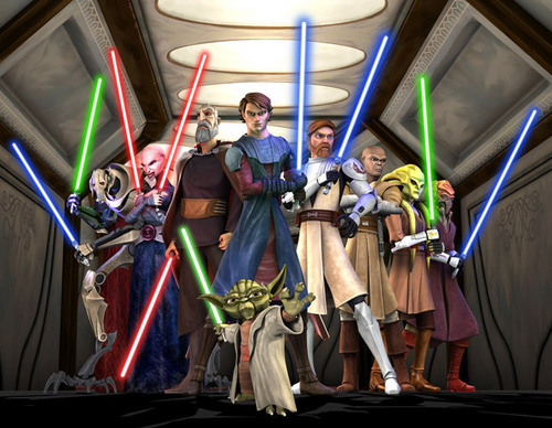 Clone wars Anakin skywalker kertas dinding called Anakin and others