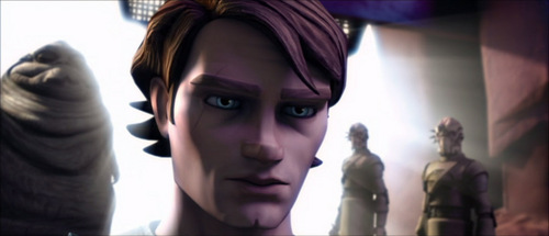 Anakin at Jabba's