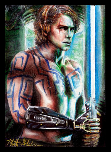 Anakin Skywalker fond d'écran possibly containing animé entitled Anakin fanart....?
