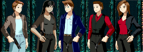 Anime Torchwood Team