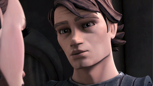Clone wars Anakin skywalker wallpaper probably containing a portrait called Ankain