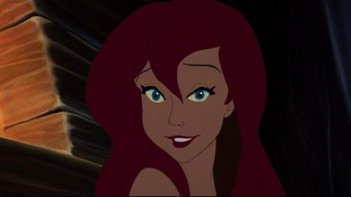 Ariel With Anastasia's Eyes