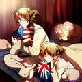 ArthurxAlfred - hetalia-usuk fan art