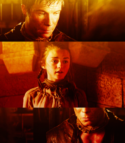 arya and gendry relationship test
