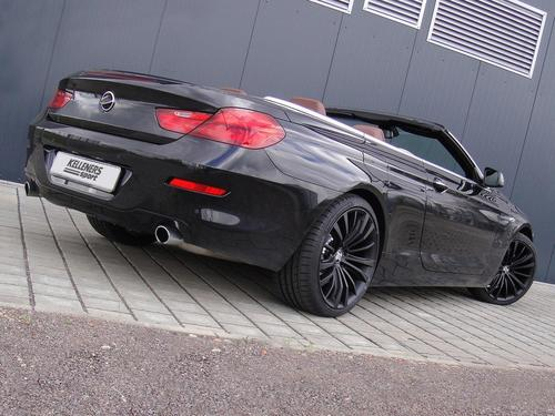 BMW 6 SERIES CABRIO door KELLENERS SPORT