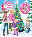 Barbie: A Perfect Natale - Book Cover (LARGE!)