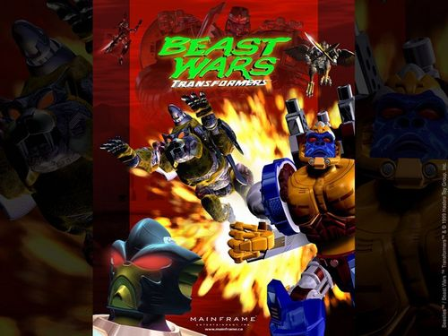 The 90s wallpaper with anime called Beast Wars