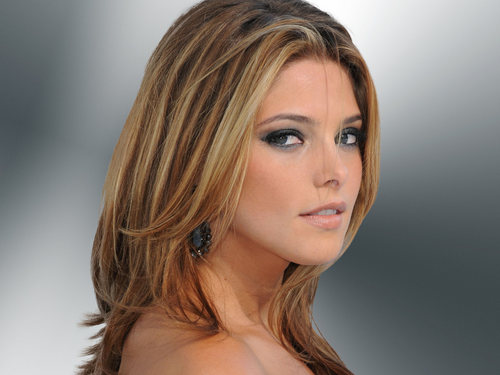 Ashley Greene wallpaper containing a portrait, attractiveness, and skin entitled Beautiful Ashley