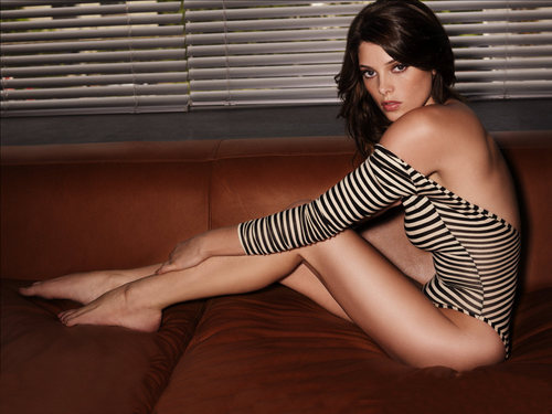 Ashley Greene wallpaper possibly with a leotard, tights, and a maillot called Beautiful Ashley