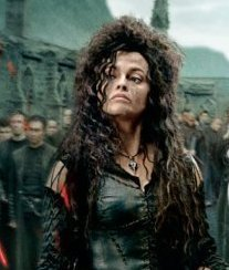 Bellatrix Lestrange wolpeyper called Bella - The Deathly Hallows pt 2