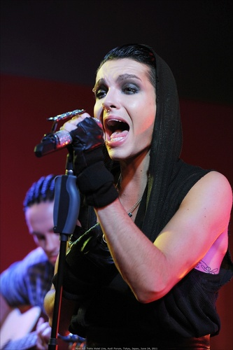 Bill Kaulitz fond d'écran with a concert entitled Bill Audi Acoustic Showcase