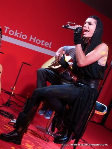 Bill Kaulitz audi Acoustic Showcase