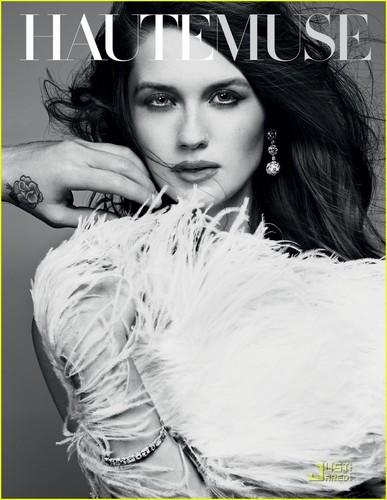Bonnie Wright: Haute Muse Cover #2!