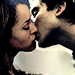 Bonnie and Damon kiss - stelena-bamon-and-forwood icon