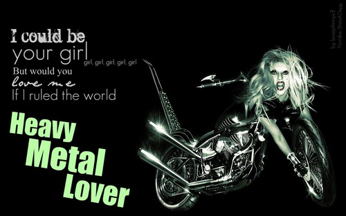 Born This Way fond d'écran [HEAVY METAL LOVER]